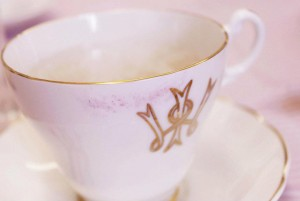 Vintage tea cups from the W.I.