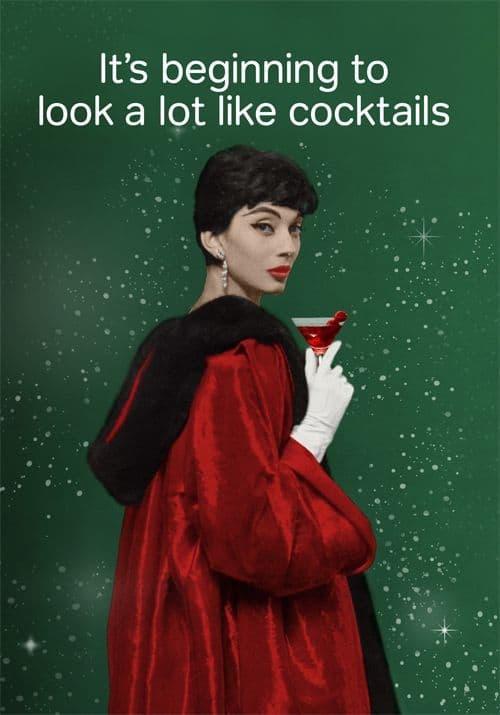 hen party xmas cocktail ideas