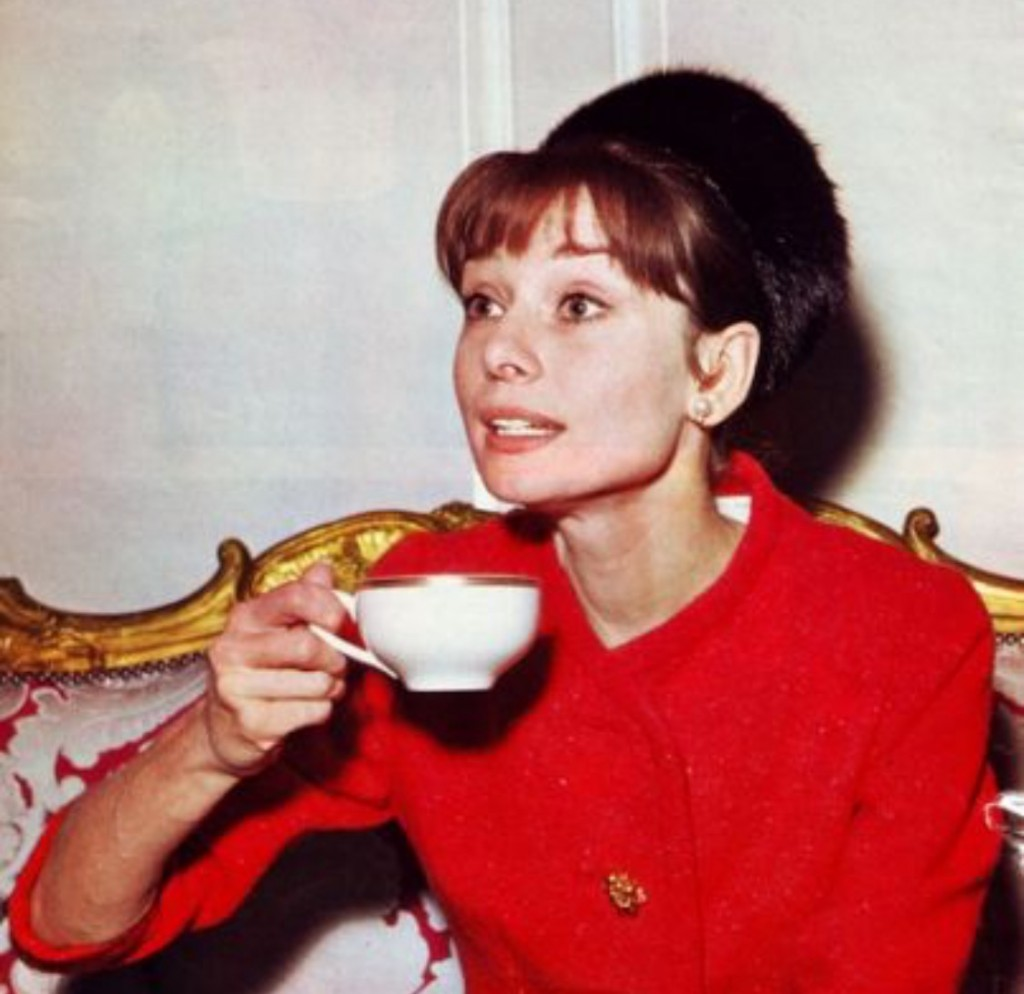 Audrey Hepburn & Coffee at The National Gallery - just your average Monday!