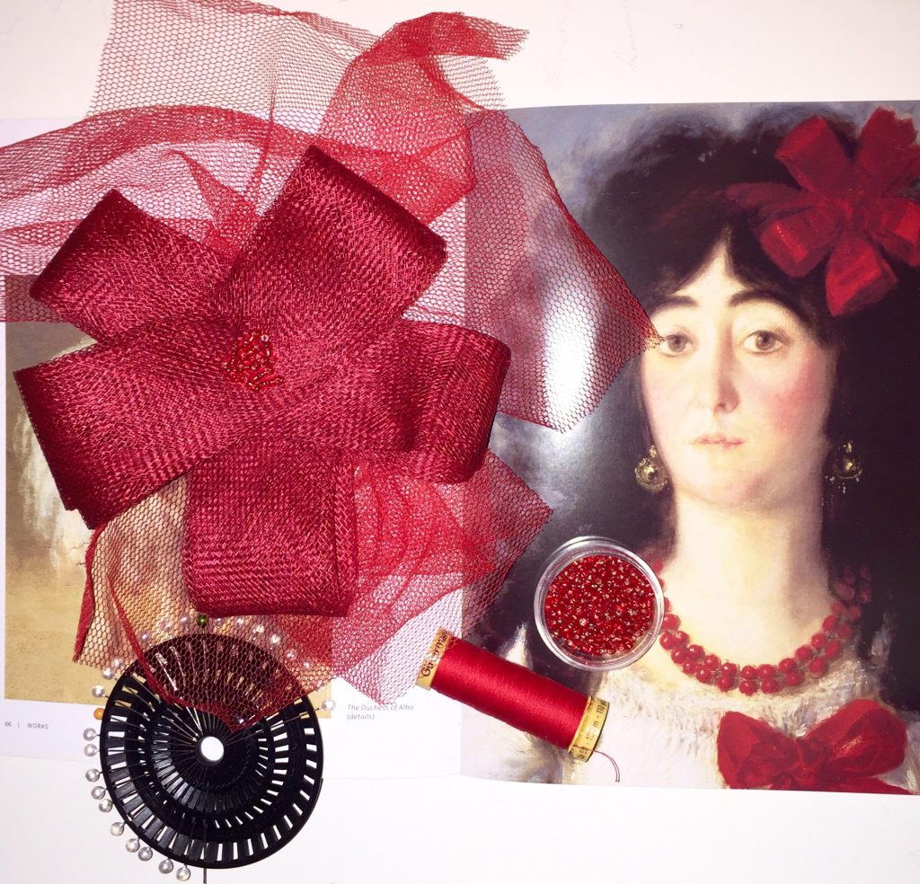 Goya-Inspired Fascinator Making Workshop.