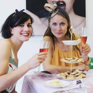 Vintage hen party theme