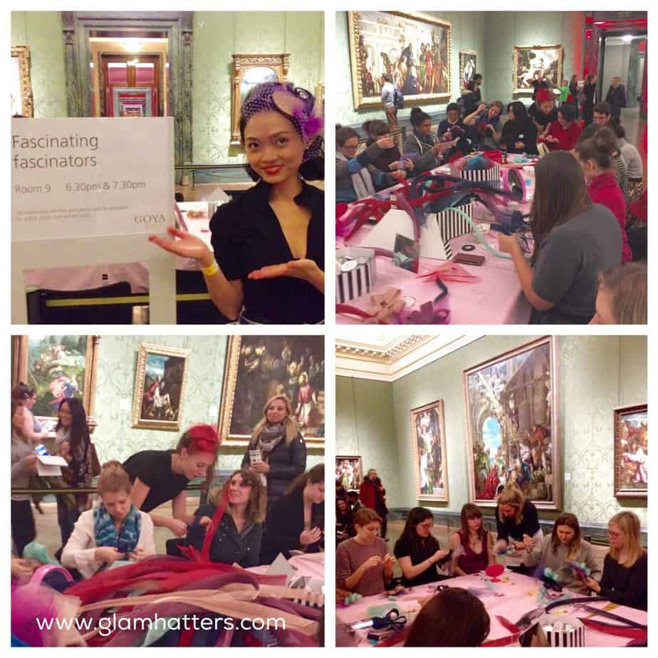 Glam Hatter Girls Storm The National Gallery!