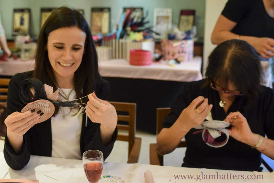 Glam Hatters Fascinator Making Workshop