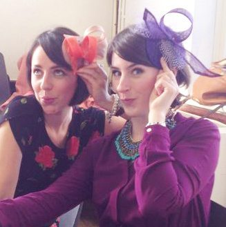 fascinator making party
