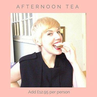 hen do afternoon tea