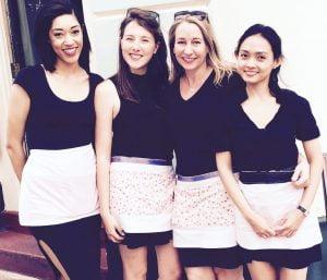 Clara, Bobbie, Janie & Astri. Summer 2015