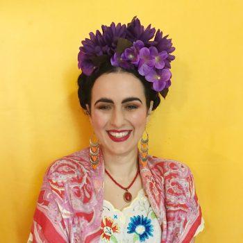boho bride flower crown