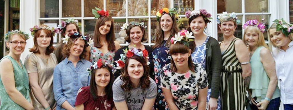 Flower Crown Hen Party Themes