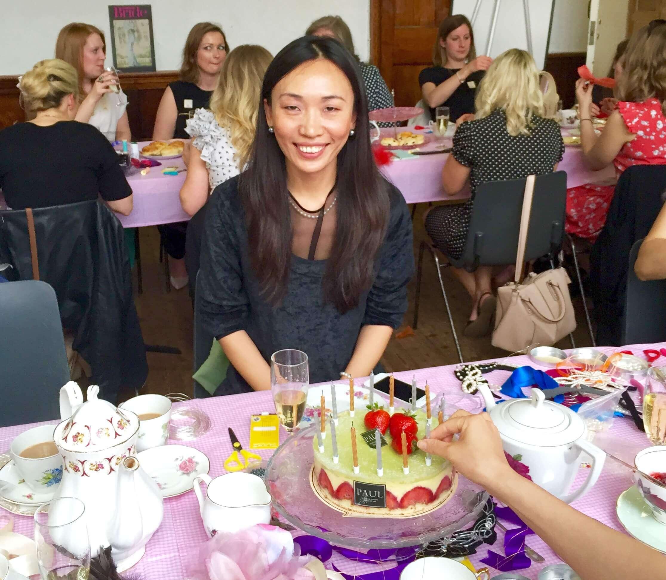 Birthday celebrations at Glam hatters