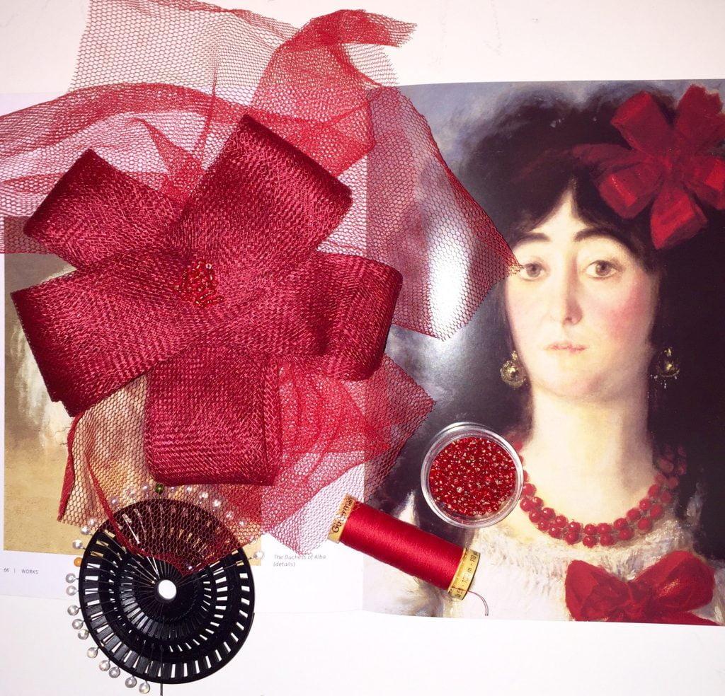Goya-Inspired Fascinator Making Workshop.