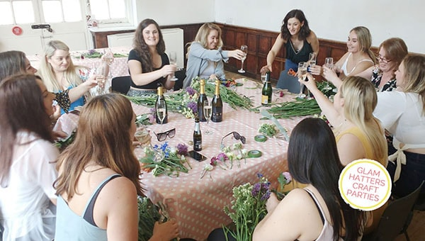 flower crown workshop Yorkshire