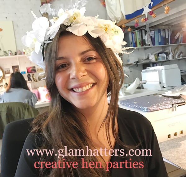 flower crown hen do London