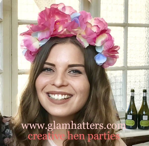 flower crown hen do