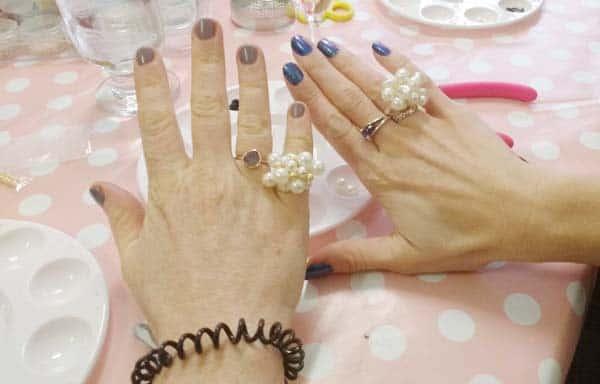jewellery making hen party idea