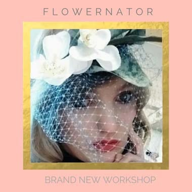 Flower crown workshop London